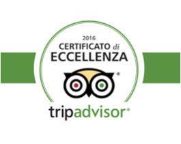 Ristorante I Salici Ridenti - Certificato di Eccellenza Tripadvisor