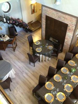 Sala ristorante I Salici Ridenti